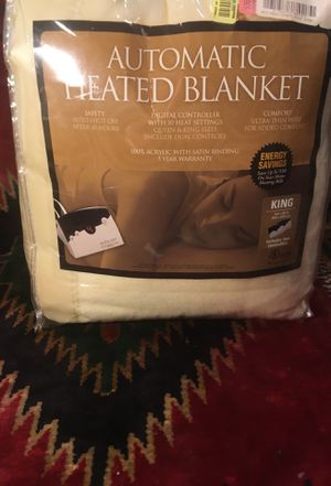 Automatic heating blanket king size for Sale in Westlake, OH