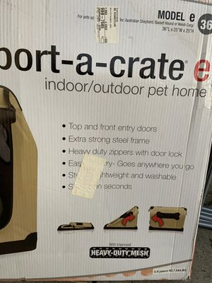 Indoor/outdoor dog crate for Sale in San Francisco, CA