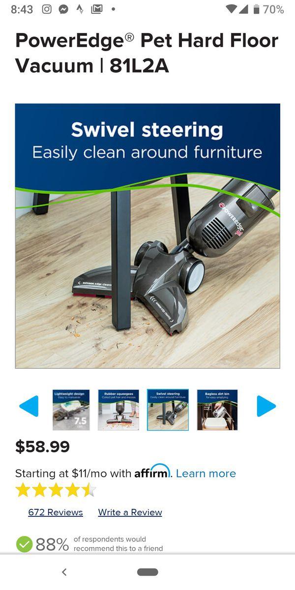 Bissell Poweredge Vacuum + Pet