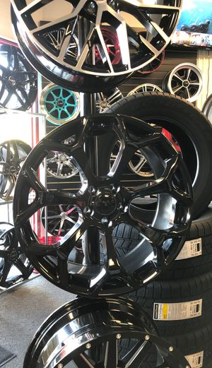 20inches 5X115 Wheels and Tires On Sale Financing Available for Sale in Sacramento, CA