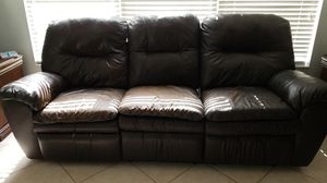 Leather sofa for Sale in US