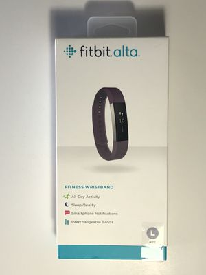 Fitbit Alta - Large - Plum Color for Sale in Hayward, CA