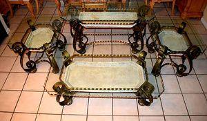 High end living room table set for Sale in Avon Park, FL