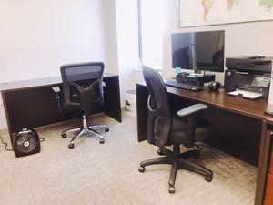Office Desk (Alera Valencia Series) in Espresso for Sale in Annandale, VA