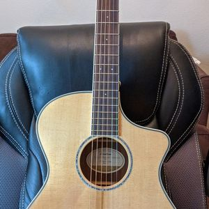 NEVER PLAYED - MINT- Breedlove Pursuit Ex Concert Cocobolo CE Acoustic-Electric Guitar. With Soft bag for Sale in Richardson, TX
