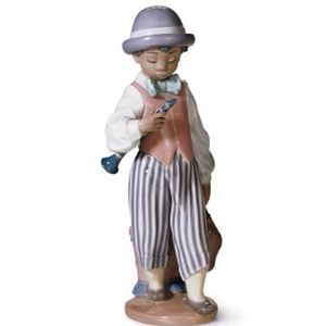 Retired Mint LLADRO 5928 Jazz Clarinet Figurine Boy Jazz Band Black Legacy Collection for Sale in Fort Lauderdale, FL