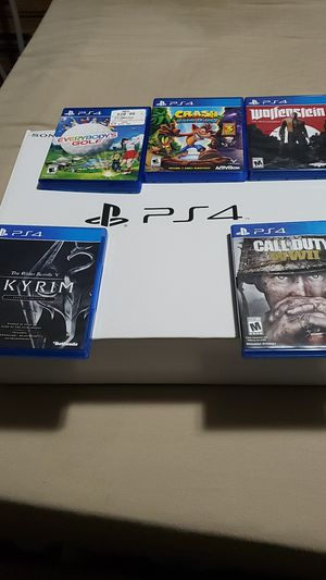 Ps4 five games for Sale in Elma, WA