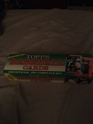 Topps Baseball Cards 1990 Complete Set for Sale in Haines City, FL