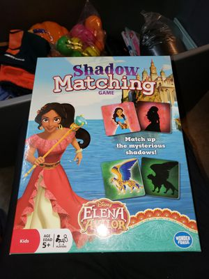 Shadow matching game for Sale in Antioch, CA