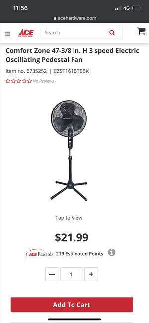 16 inch oscillating Fan for Sale in Compton, CA
