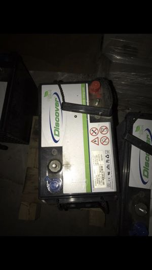Agm batteries for Sale in Nellis Air Force Base, NV