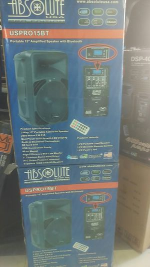 DJ speaker's for Sale in Los Angeles, CA