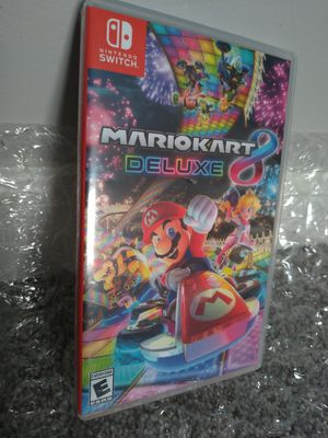 Mario Kart 8 Deluxe Game for the Nintendo Switch for Sale in San Diego, CA
