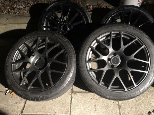 19x9 TSS Wheels with New Cooper Tires
