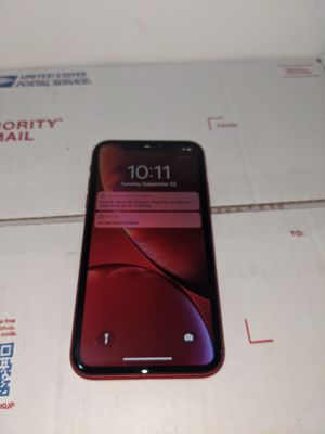 iPhone XR 64gb red TMobile or metro pcs for Sale in Phoenix, AZ