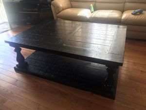 Black coffee table for Sale in Philadelphia, PA