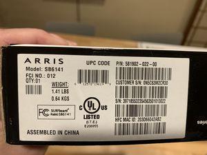 Motorola Arris surfboard modem for Sale in Vancouver, WA