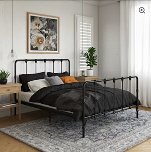 Vintage Inspired Farmhouse Bed Frame (Queen) for Sale in Las Vegas, NV