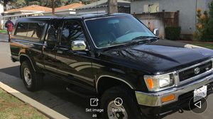 1992 Toyota truck 4 x 4 and Prestige condition new paint job new tires over 200,000 miles but runs as good as it did in 1992 for Sale in City of Industry, CA