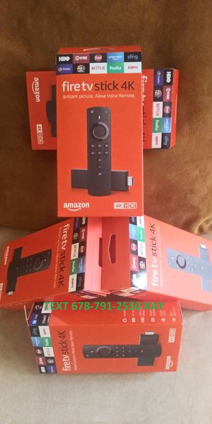 Awesome HDR Fire pro system sticks 4K | Stream what you want! for Sale in Atlanta, GA