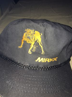 New black mirka bulldog logo automotive OEM hat trucker for Sale in Rochester Hills, MI