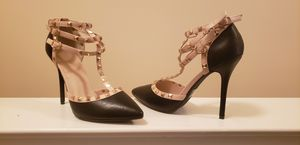Studded black heel (never worn) for Sale in Bethesda, MD