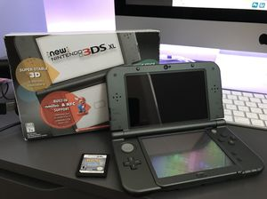 Nintendo New 3DS XL 32GB with Pokemon SoulSilver (Rare) for Sale in Jersey City, NJ