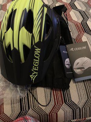 Stylish Adult Road Bike Helmet Visor Protector Adjustable Sport Aero Cycling Helmet Bicycle Helmet for Sale in Smyrna, GA