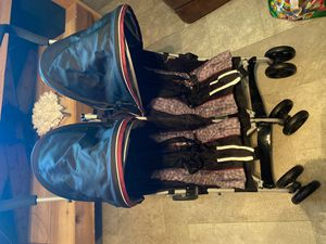 Like new double stroller for Sale in Fort Worth, TX