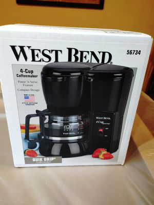 West Bend 4 Cup Quick Drip Coffee Maker for Sale in Laurel, MD