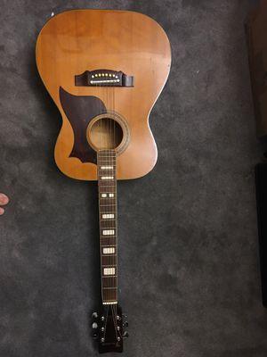 Classic brown guitar for Sale in Alexandria, VA