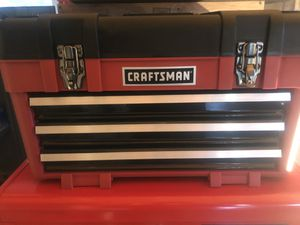 Craftsman Tool Box with Tools for Sale in Oak Harbor, WA