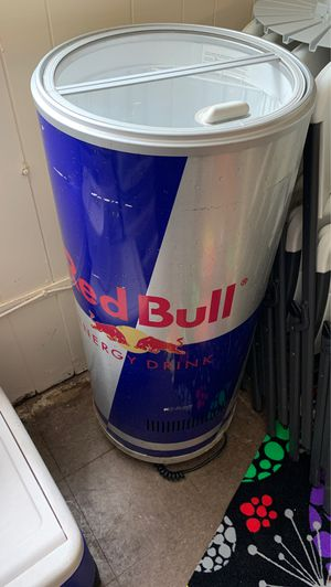 Red Bull stand up refrigerator for Sale in Jeannette, PA