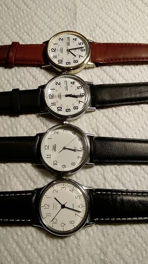 4 TIMEX WATCHS FOR MAN ALL WORKS FOR $ 40 DLRS for Sale in El Monte, CA