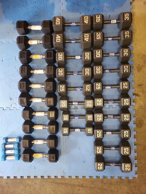 Brand new dumbbells.. look at the pictures for pounds for Sale in Staten Island, NY