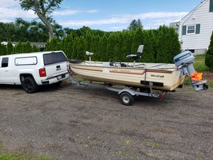 Fishing boat 16' for Sale in Marlborough, MA