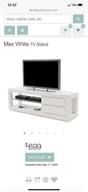 White tv stand for Sale in FL, US
