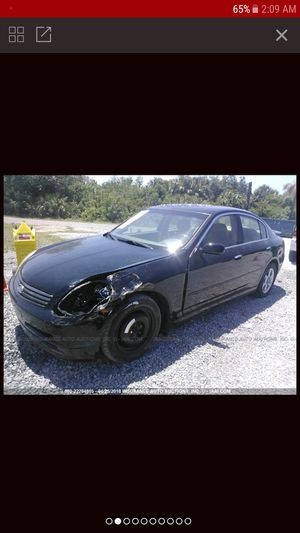 Parts for 04 05 06 Infinity G35 parts engine 3.5L for Sale in Largo, FL