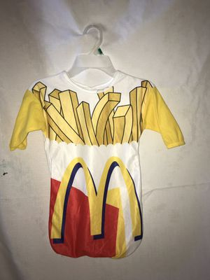McDonald's French fries infant Halloween costume for Sale in Glendale Heights, IL
