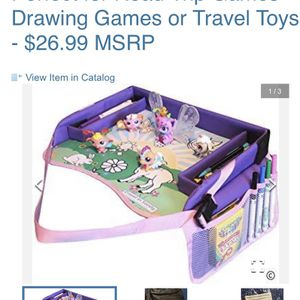 Kids travel tray for car for Sale in San Diego, CA