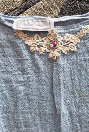 VINTAGE 80s Girls drop waist muslin dress by Elizabeth Harrison for Sale in Kailua-Kona, HI
