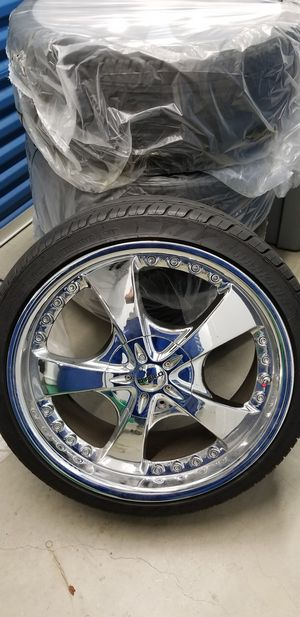 20 Diablo rims and tires for Sale in Gambrills, MD