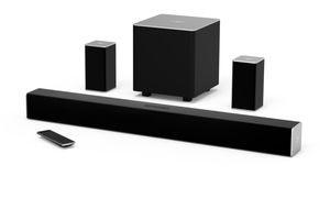 """VIZIO 32"""" 5.1 Channel Soundbar System with Wireless Subwoofer and Rear Speakers for Sale in Vallejo, CA"""