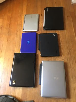 As is 6 laptops read for Sale in Washington, DC