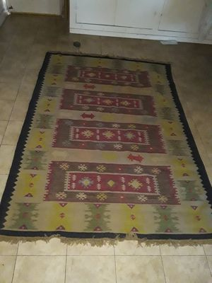 Vintage kilim turkish rug for Sale in Moriarty, NM