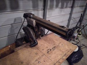 CRAFTSMAN ARM TABLE SAW for Sale in New Bern, NC
