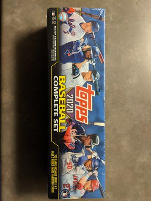 Topps 2020 baseball complete set. Sealed sports trading cards for Sale in Bothell, WA