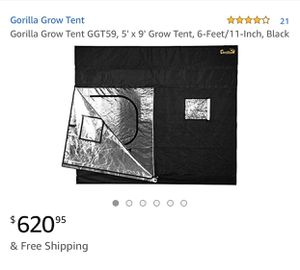 Gorilla Grow Tent ⛺️ for Sale in Las Vegas, NV