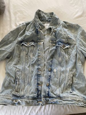 Old navy distressed denim jacket for Sale in Los Angeles, CA