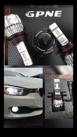 CSP Car LED lights kit MODEL 9012 9006 9005 with 1 year WARRANTY. Easy plug and play Car CSP LED headlights set for Sale in West Covina, CA